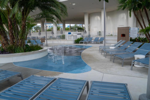 The pool at Universal's Aventura Hotel