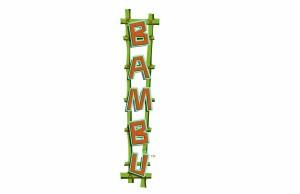 Bambu logo at Universal's Volcano Bay