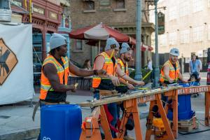 Beat Builders at Universal Studios Florida
