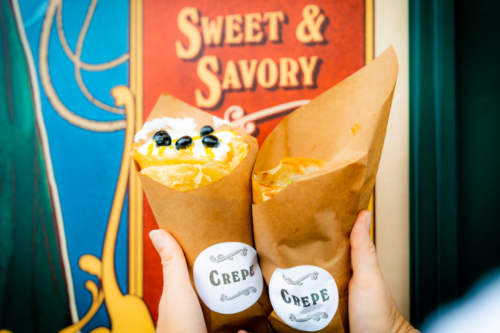 Central Park Crepes in Universal Studios Florida 5