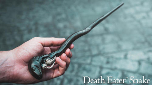 Death Eater Snake interactive wand