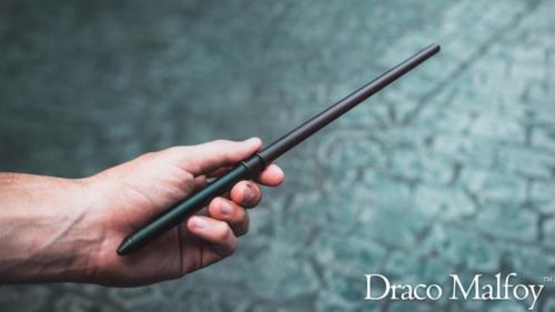 Draco Malfoy interactive wand