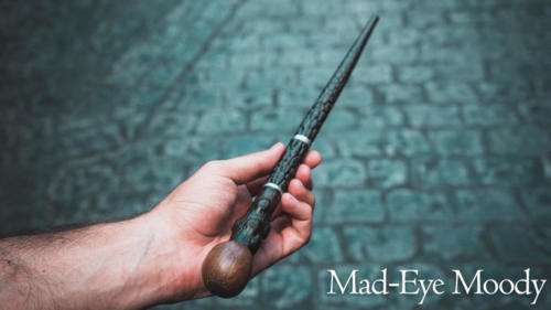 Mad-Eye Moody interactive wand