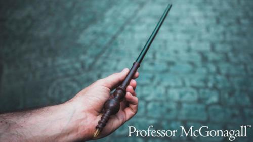 Minerva McGonagall interactive wand
