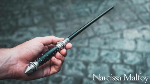 Narcissa Malfoy interactive wand