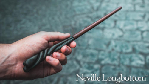 Neville Longbottom interactive wand