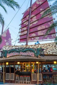 Dancing Dragons Boat Bar at Universal's Volcano Bay