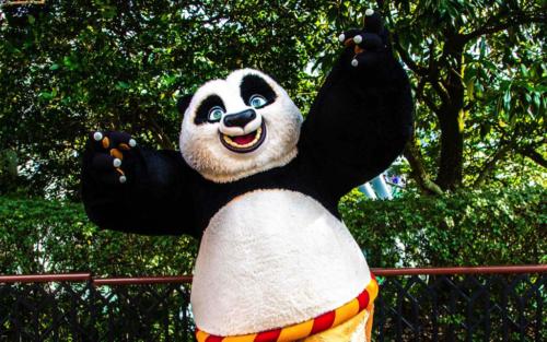 Po at Universal Studios Florida's DreamWorks Destination