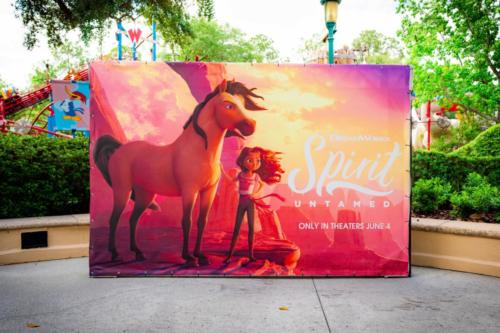 Photo spot at Universal Studios Florida's DreamWorks Destination
