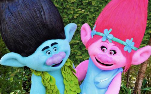 The Trolls at Universal Studios Florida's DreamWorks Destination