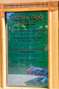 The Feasting Frog at Universal's Volcano Bay
