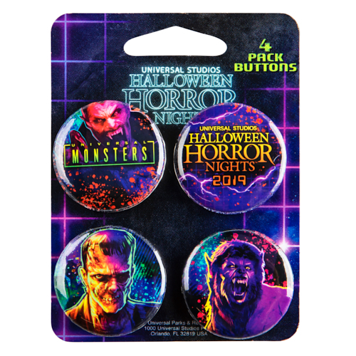 Halloween Horror Nights 2019 Universal Studios Excl Ghostbusters Pin See Pics
