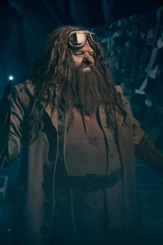 Hagrid animated figure at Hagrid's Magical Creatures Motorbike Adventure 2