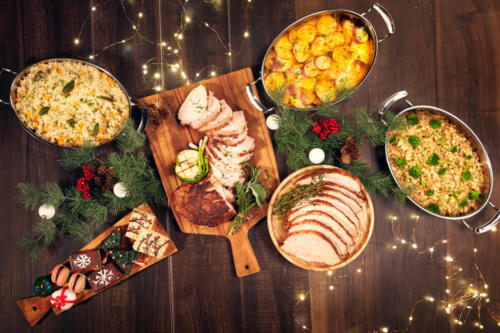 Festive Flavors Holiday Buffet at Universal Orlando's Holidays 2019