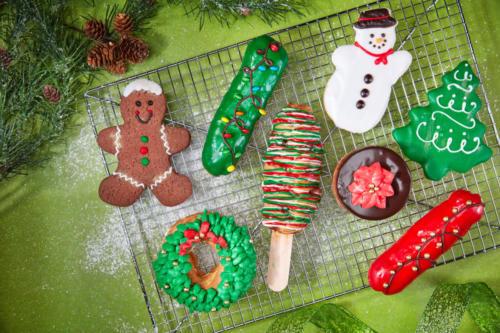 Holiday pastries at Universal Orlando's Holidays 2019