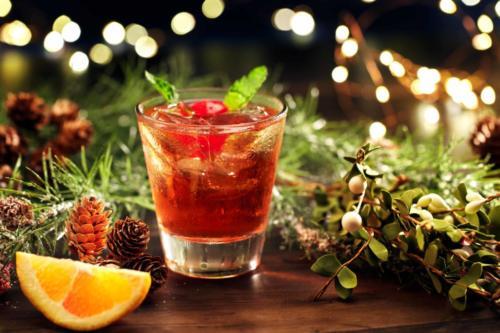 Mistletoe Cocktail at Universal Orlando's Holidays 2019