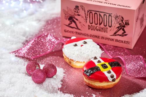 Voodoo Doughnut - Stuffed Santa Suit Set at Universal Orlando's Holidays 2019