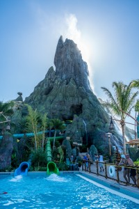 Kala and Ta Nui Serpentine Body Slides at Universal's Volcano Bay