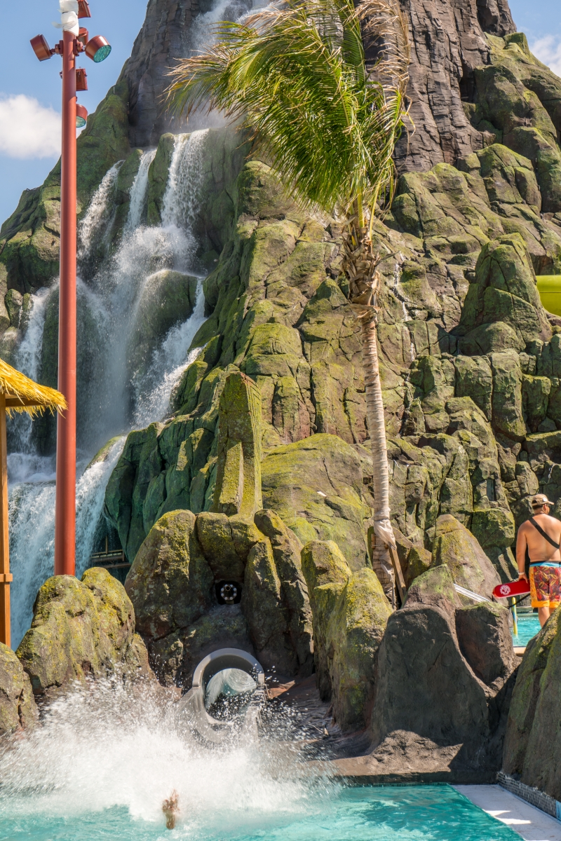 Ko Okiri Body Plunge At Universal S Volcano Bay Orlando