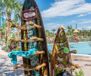 Ko'okiri Body Plunge at Universal's Volcano Bay
