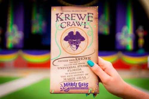 Krewe Crawl - brochure at Mardi Gras 2021