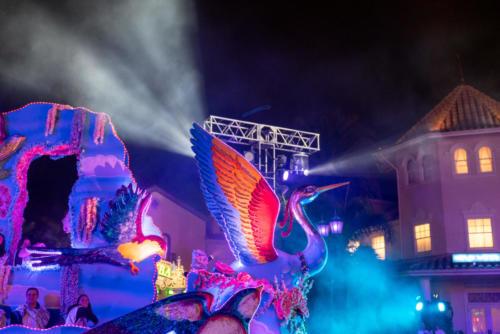 Parade at Universal Orlando's Mardi Gras 2019