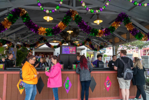 Bar at Universal's Mardi Gras