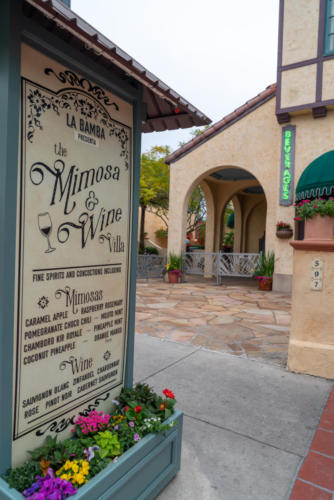 La Bamba's Mimosa and Wine Bar at Universal's Mardi Gras
