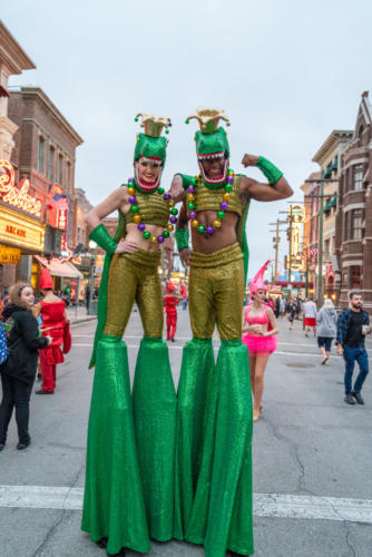 Universal Orlando's Mardi Gras