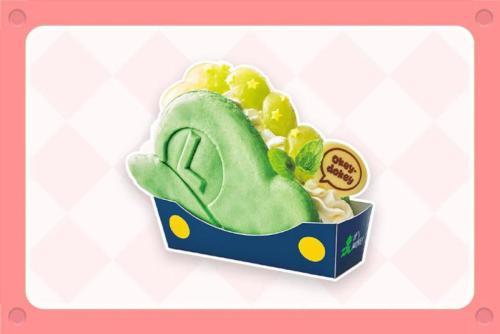 Luigi Hat Pancake Sandwich