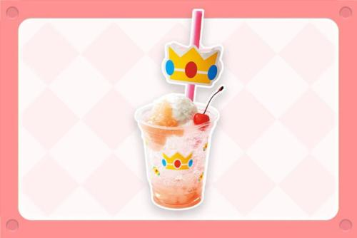 Princess Peach Peach Cream Soda