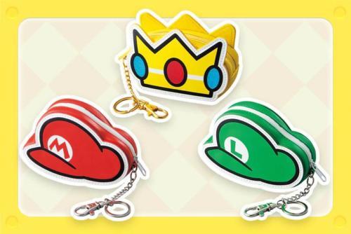 Super Nintendo World keychains