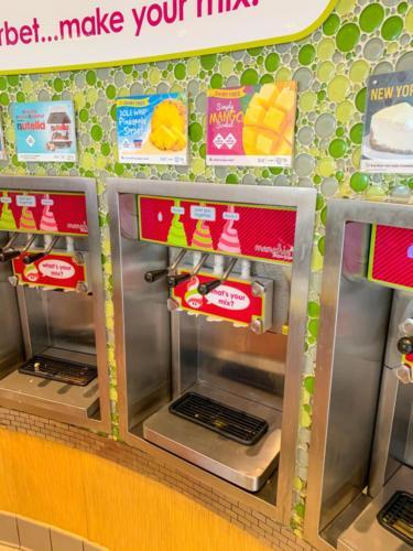Menchie's Frozen Yogurt at Universal CityWalk 12