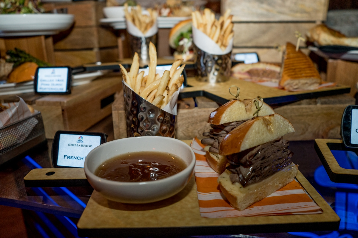 Nbc Sports Grill Amp Brew Full Menu Hd Photos And Details