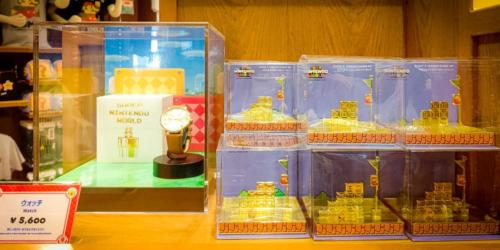Super Nintendo World merchandise at Universal Studios Japan