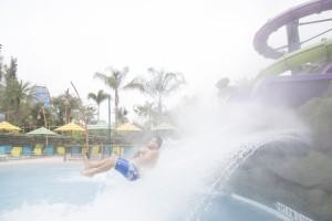 Ohyah and Ohno Drop Slides at Universal's Volcano Bay