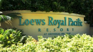 Loews Royal Pacific Resort entrance