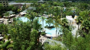 Loews Royal Pacific Resort pool at Universal Orlando