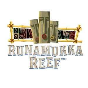 Runamukka Reef logo at Universal's Volcano Bay