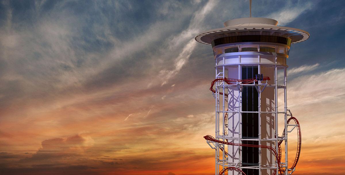 Skyplex World S Tallest Roller Coaster Approved