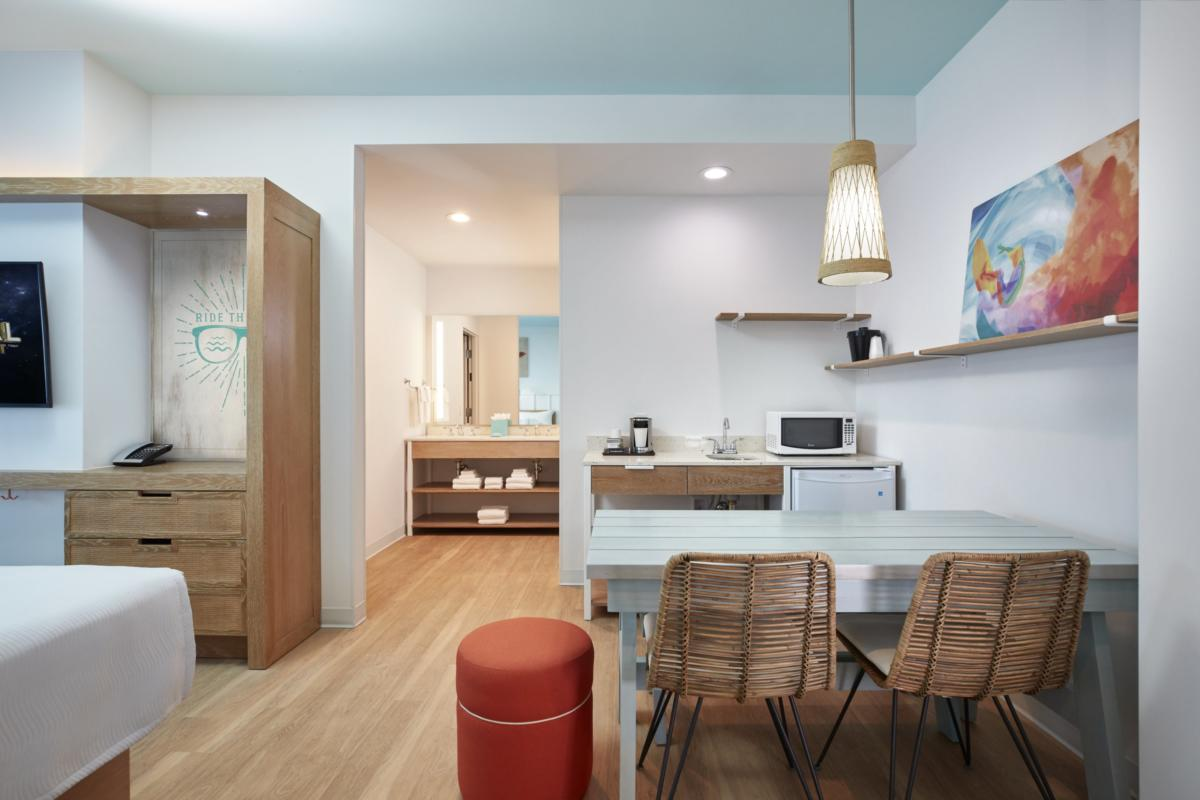 Two-bedroom suite at Surfside Inn and Suites