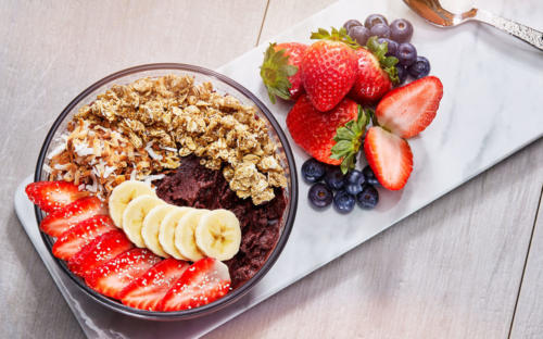 Acai Bowl at Today Cafe at Universal Studios Florida