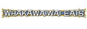 Whakawaiwai Eats logo at Universal's Volcano Bay