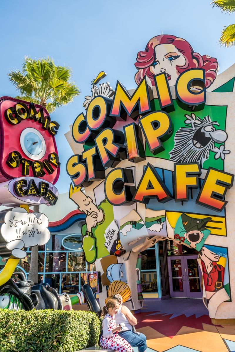Comic Strip Cafe Islands Of Adventure