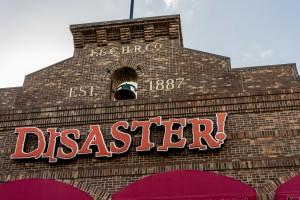 Disaster at Universal Studios Florida