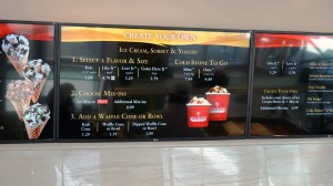 Cold Stone Creamery at Universal Orlando CityWalk