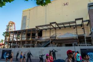 Race Through New York Starring Jimmy Fallon construction - June 23, 2016