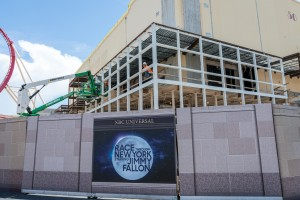 Race Through New York Starring Jimmy Fallon construction - July 11, 2016