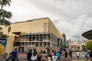 Race Through New York Starring Jimmy Fallon construction - August 14, 2016