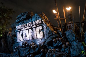 Skull Island: Reign of Kong construction at Universal's Islands of Adventure